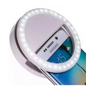 Aro de luz LED Anillo Recargable para Smartphone / tablets / notebooks