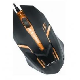 Mouse Gamer NETMAK - FLASH - Retroiluminado