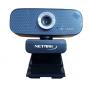 Webcam USB con Mic. NETMAK - FullHD 1080P Con Tripode