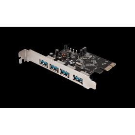Placa PCI Express USB 3.0 4 puertos noga USB-304