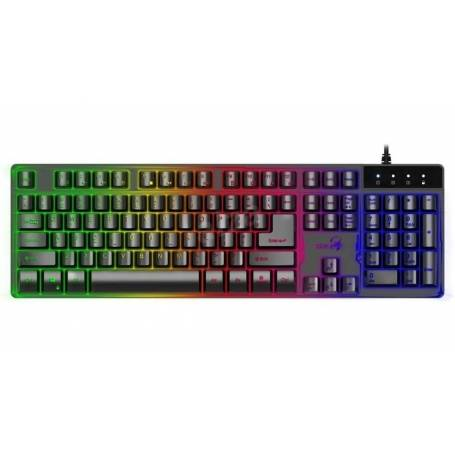 Teclado Gamer Genius GX Scorpion K8 Retroiluminado Usb