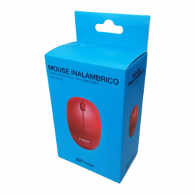 Mouse Noganet Inalámbrico NG-900U-Rojo (no incluye pila)