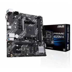 Motherboard Asus Prime A520M-K AMD Ryzen 3ra Gen