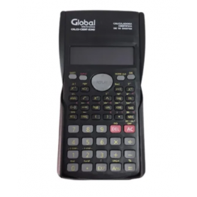 Calculadora Global Científica 10 dig. 240 Func. CALCU-CIENT-82MS-5 (no incluye pilas)