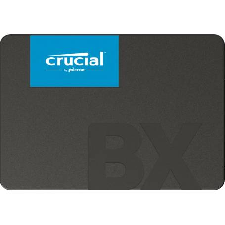 Crucial SSD 120GB SATA 3, BX500, Lectura 540 MB/s