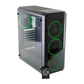 Gabinete Gamer AUREOX Hydra ARX 330g Mid Tower Fan X4 RGB