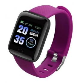 Reloj Inteligente Smartband NETMAK Bluetooth NM-BAND - Purpura