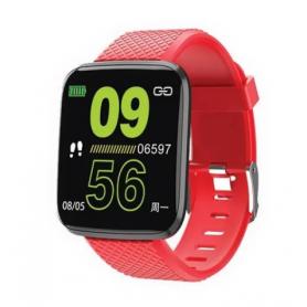 Reloj Inteligente Smartband NETMAK Bluetooth NM-BAND - Rojo