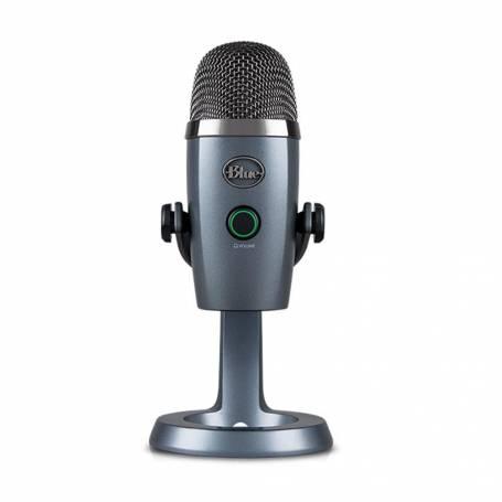 Microfono Blue YETI Nano Shadow Grey, Logitech