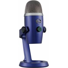 Micrófono Blue YETI Nano Vivid Blue p/Streaming PC, Logitech