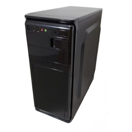 Gabinete XTech Negro XTG-209 / Con Fuente de 600w - SIN KIT -