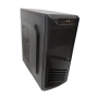 Gabinete XTech Negro XTQ-200 / Con fuente de 600w - SIN KIT -