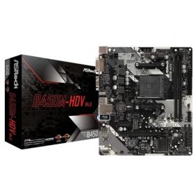 Motherboard AMD Asrock B450M HDV R4.0 M.2 DDR4 HDMI / Socket AM4