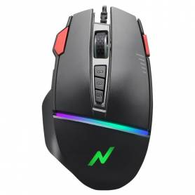 Mouse Gamer Noganet ST-333 retroiluminado / 12000 dpi