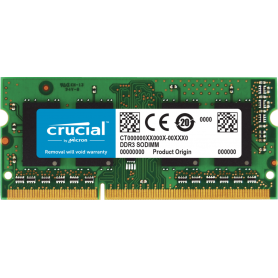 SODIMM Crucial 4GB DDR3L 1600Mhz