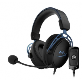Auriculares Headset Gamer HyperX Cloud Alpha S  7.1 Azul