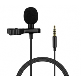 Micrófono Corbatero NETMAK p/PC, Tablets, celulares NM-MC5