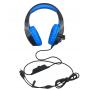 Auricular Gamer  ST-8220 Noganet Stormer, conector 3.5 TRRS, Azul