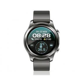 Smartwach BT Healt / Fitness, Pro -  Noga - NG-SW05 bk (metálico)