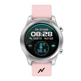 Smartwach BT Healt / Fitness, Pro -  Noga - NG-SW05 Rosa (metálico)