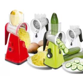 Multirallador Rebanador Salad Maker KanjiHome - KJH-SALADM01-G VERDE