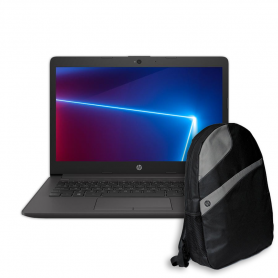 "Notebook HP 240 G7, Core i3 1005G1, 4GB, 1 Tb, 14"" + Mochila HP de regalo !"