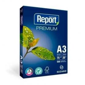 Resma REPORT  A3 Premium de 75 grs