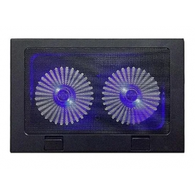 """Base para Notebook 2 coolers con Led """"A8"""" Hasta 17"""""""