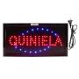"Cartel LED ""QUINELA"" 48x25"