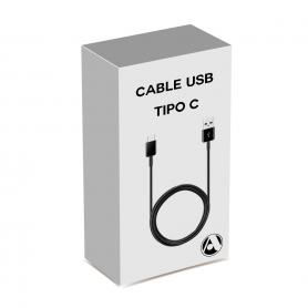 Cable USB A-M a USB Type C-M (En Caja - Alta calidad)