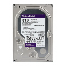 Disco Rigido Western Digital Purple 8TB 256MB Cache SATA 3 / Minería