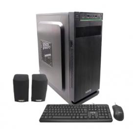 Kit Gabinete Kanji 9315 Classic / Incluye teclado, mouse, parlantes y fuente