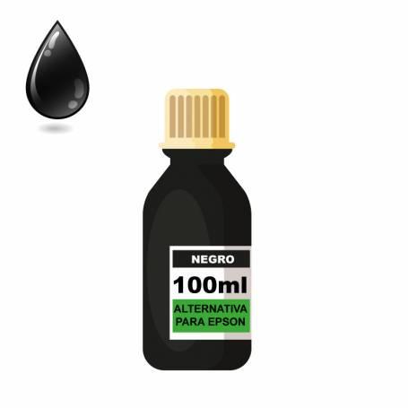 Tinta sublimacion negra para epson 100 ml