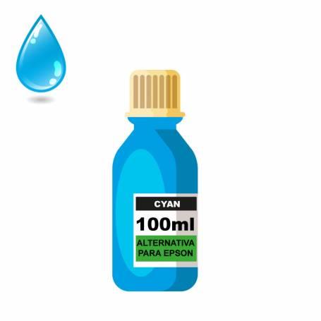 Tinta sublimacion cian para epson 100 ml