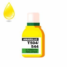 Tinta Amarilla P/EPSON alternativa linea *T504/544*