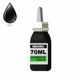 Tinta negra para HP 70 ml alternativa