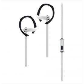 Auricular c/mic SPORT FIT Noga, NG-SF322 Blanco