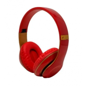 Auriculares Bluetooth Noganet  Aris NG-A428BT  Rojo