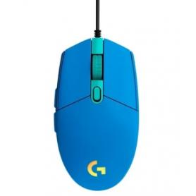 Mouse Gamer Logitech G203 LIGHTSYNC USB Azul