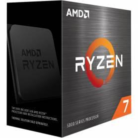 Procesador AMD Ryzen 7 5800X + Cooler UX100 ARGB,  8 Cores, Socket AM4, 5ta Generación / 4.7GHz