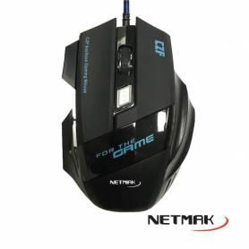 Mouse Gamer NETMAK - LEGION - Retroiluminado