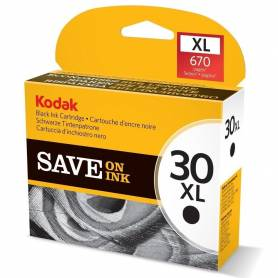 Cartucho Kodak 30 xl original de tinta negra