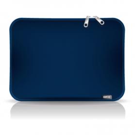 "Funda para notebook de Neoprene CdTek 14"" Azul Lisa"
