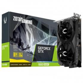 Placa de Video Zotac GeForce GTX 1660 SUPER 6GB GDDR6 Twin Fan