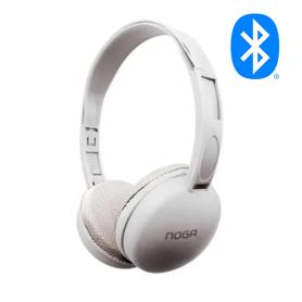 Auriculares Bluetooth NOGA Aris NG-903BT Blanco