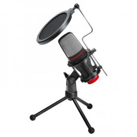 Micrófono Streamer c/trípode - Noga MIC-ST02