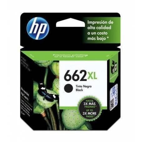 Cartucho HP 662XL original de tinta negra