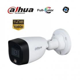 Camara Dahua Bullet *Full-Color* FHd. 1080px 2MP // DH-HAC-HFW1209CP-LED-0280B
