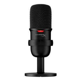 Micrófono HyperX SoloCast condensador cardioide negro