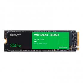 Disco SSD WD 240GB Green SN350 NVMe M.2 PCie Gen 3